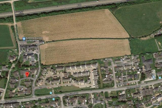 Affordable led Housing (revised scheme) development on land off Greenbank in Connor Downs | PA19/00988